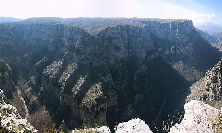 Photo of Το φαράγγι του Βίκου είναι το βαθύτερο παγκοσμίως