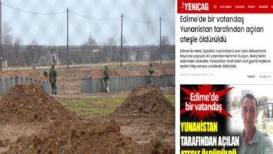 Photo of Προβοκάτσια από Τουρκικά ΜΜΕ: «Νεκρός Τούρκος από ελληνικά πυρά στον Έβρο» – Διαψεύδει η ελληνική πλευρά